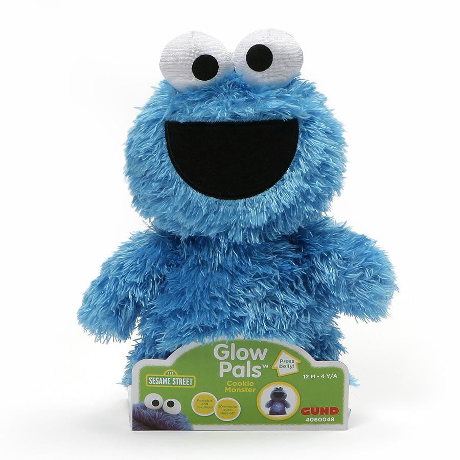 Sesame Street - Cookie Monster Glow Pals Soft Toy