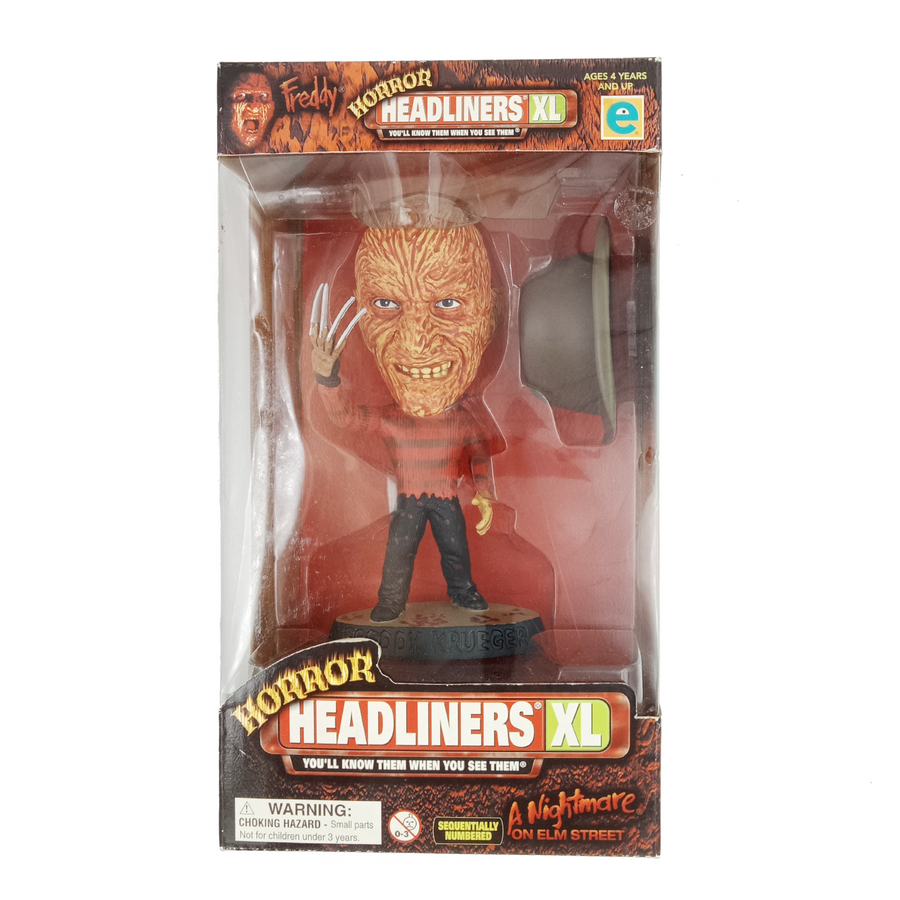 Horror Headliners XL - Nightmare on Elm Street - Freddy (1999)