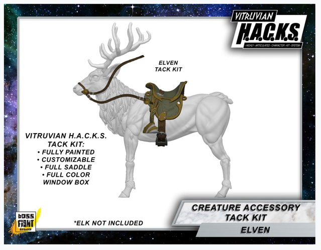 VITRUVIAN H.A.C.K.S. Mighty Steeds Light TACK Kit - Elven