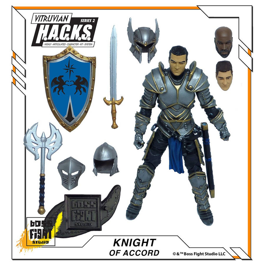 VITRUVIAN H.A.C.K.S. - Series 2 - KNIGHT OF ACCORD (Soldier of Order)