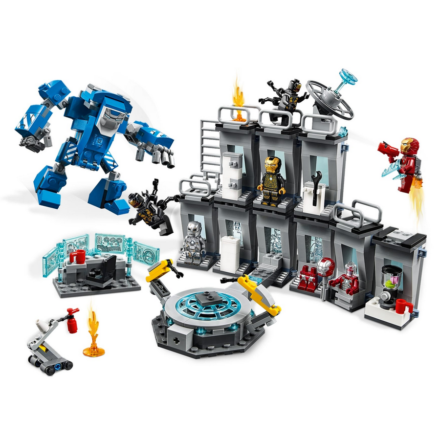 LEGO - 76125 Marvel Iron Man Hall of Armor