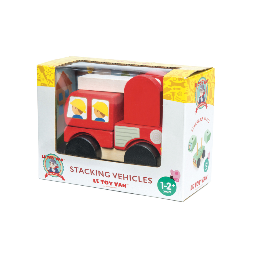 Le Toy Van - Fire Engine Truck Stacker