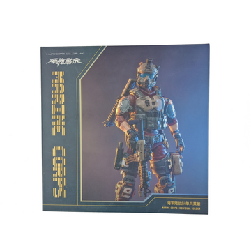 Joy Toy - 1:18 Scale Action Figure - Marine Corps