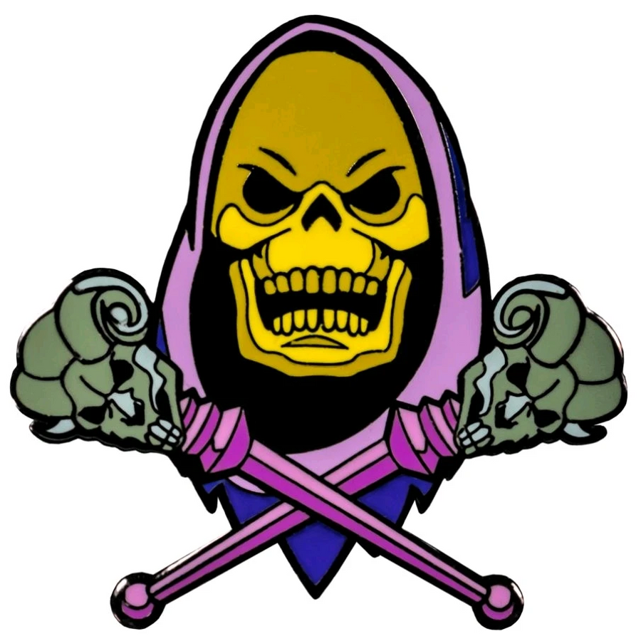 MOTU - Skeletor enamel pin
