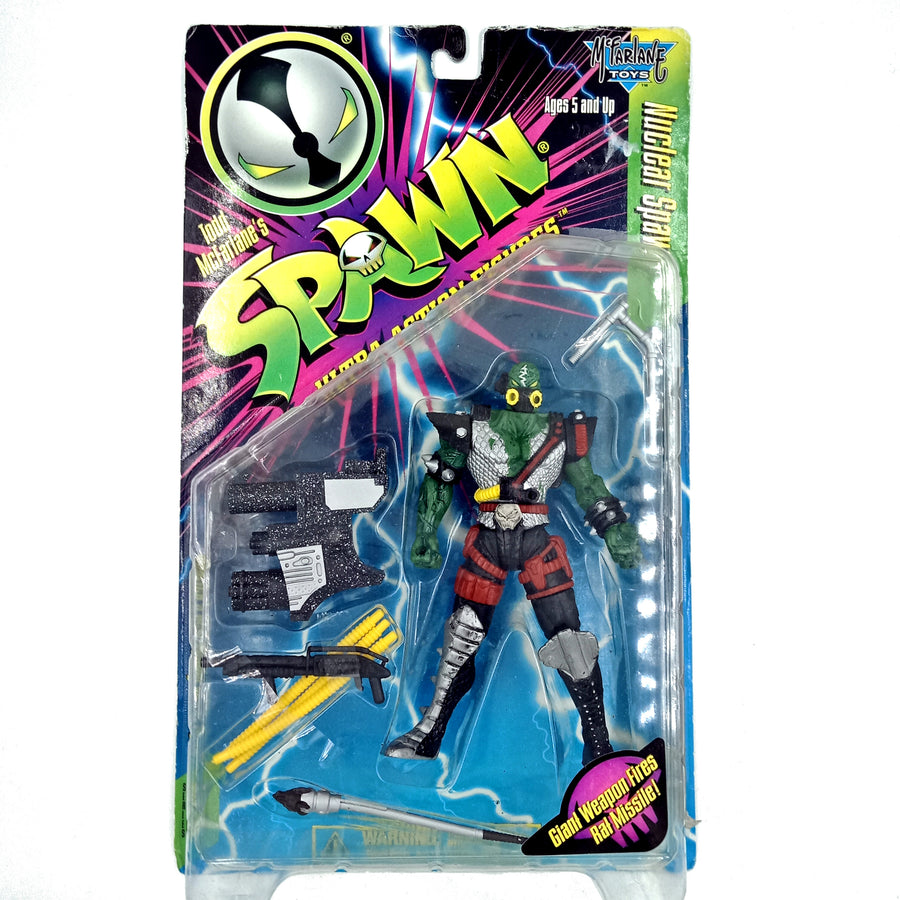 Spawn Ultra Action Figure - Nuclear Spawn (1996)