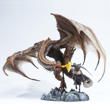 McFarlane's Dragons - Berserker Clan Dragon vs. Human Attacker (2004)