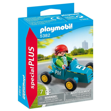 Playmobil - 5382 Boy with Go-Kart Figure
