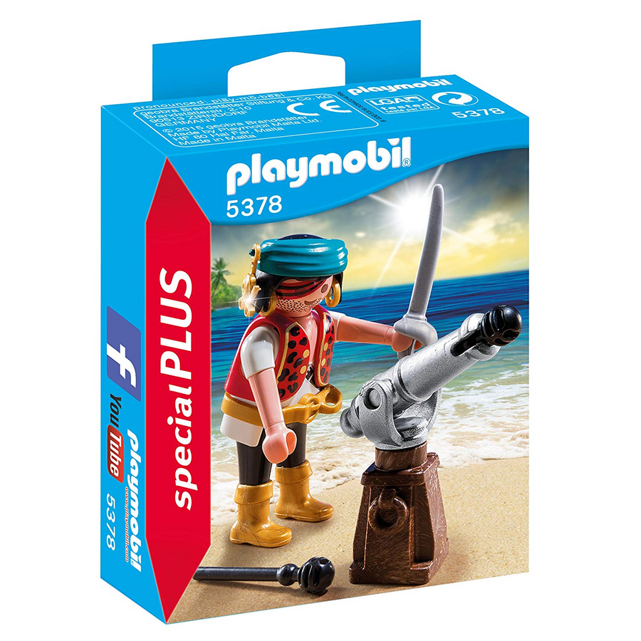 Playmobil - 5378 Pirate with Cannon