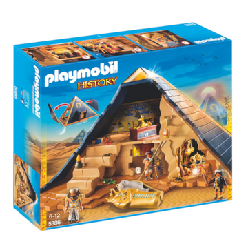 Playmobil History - Pharaohs Pyramid Play Set 5386