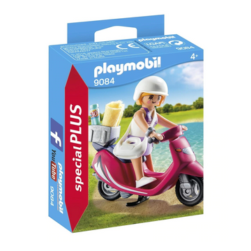 Playmobil - Beachgoer with Scooter