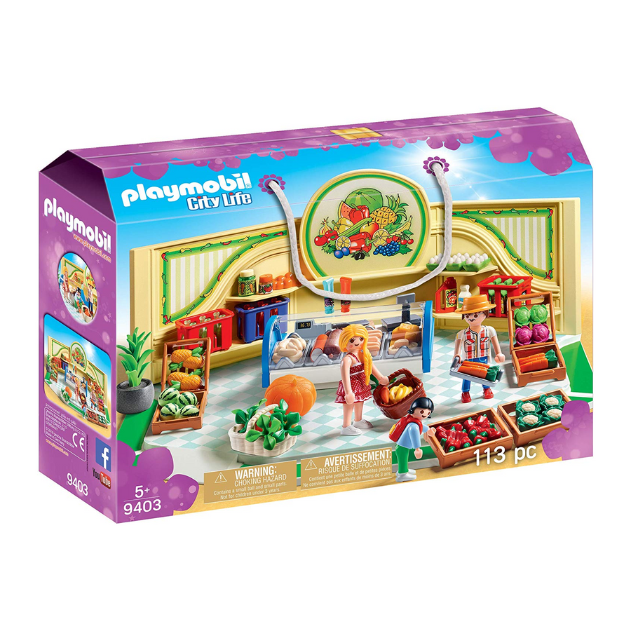 Playmobil - 9403 Grocery Shop