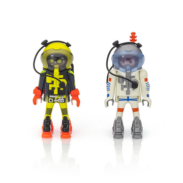 Playmobil - Astronauts Duo Pack Figures