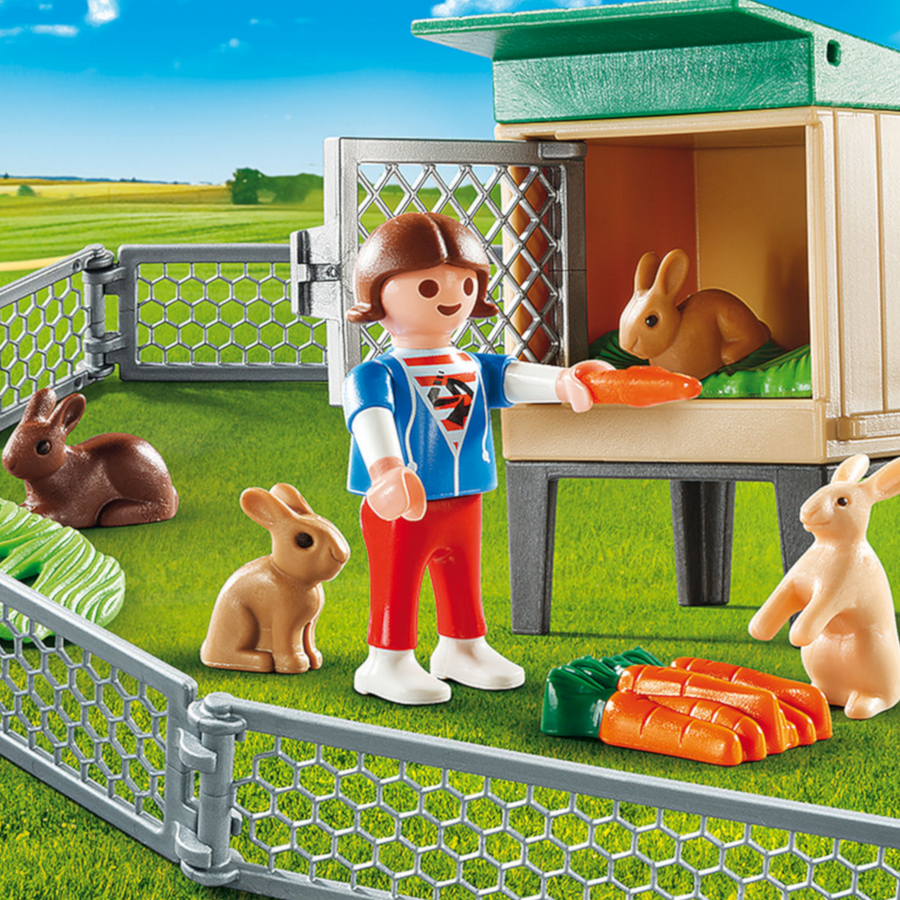 Playmobil - Bunny Barn Carry Case