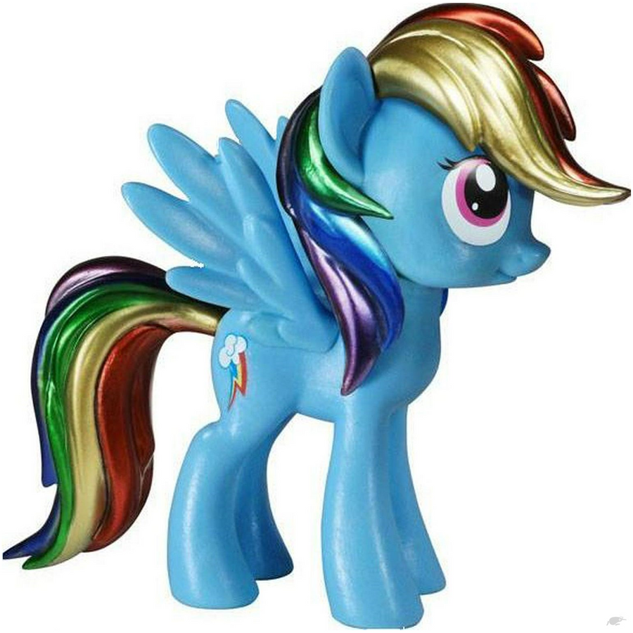 My Little Pony – Rainbow Dash Metallic Exclusive Vinyl Figure 2014