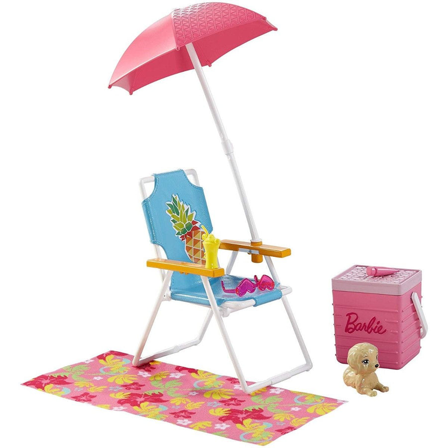 Barbie - Poolside Fun Playset