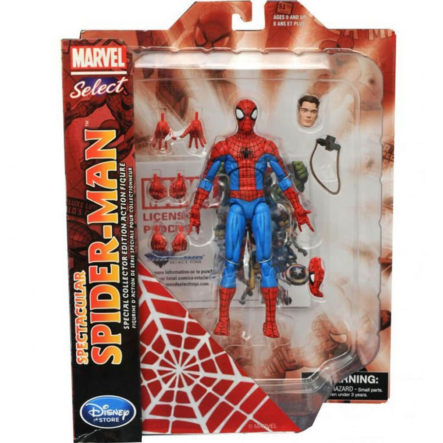 Marvel Select - SPIDERMAN (Disney Store Exclusive)