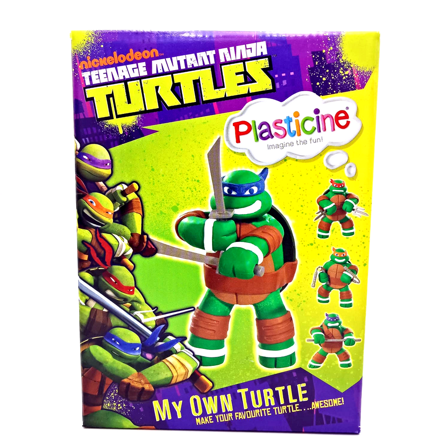 Teenage Mutant Ninja Turtles Plasticine - Make your favourite TMNT Turtle