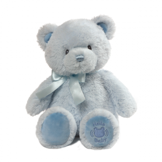 Gund - My First Teddy Blue