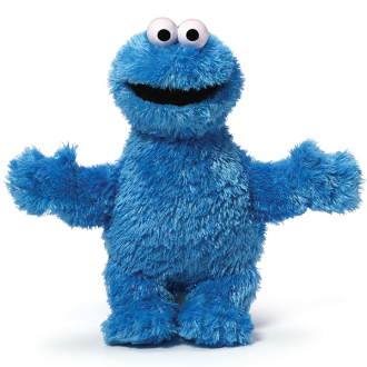 Sesame Street - Cookie Monster Soft Toy