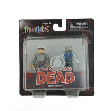 Minimates - The Walking Dead - Glenn and Vest Zombie