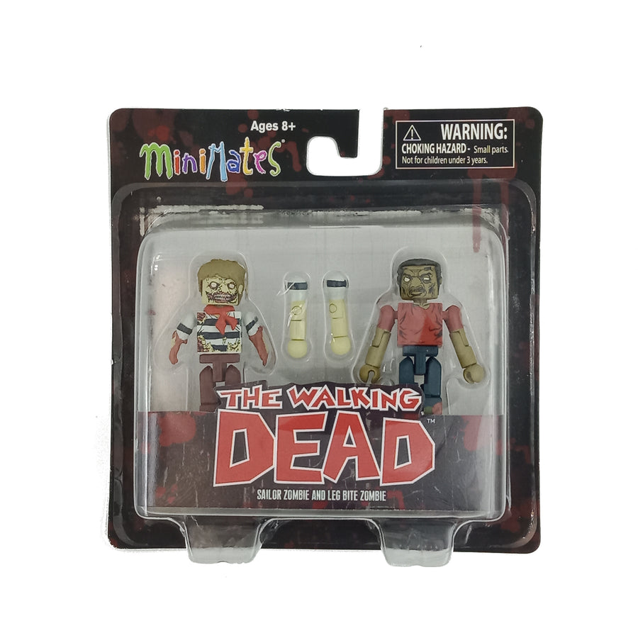 Minimates - The Walking Dead - Sailor Zombie and Leg Bite Zombie