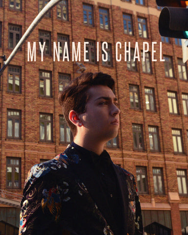 Signed My Name Is Chapel 8x10