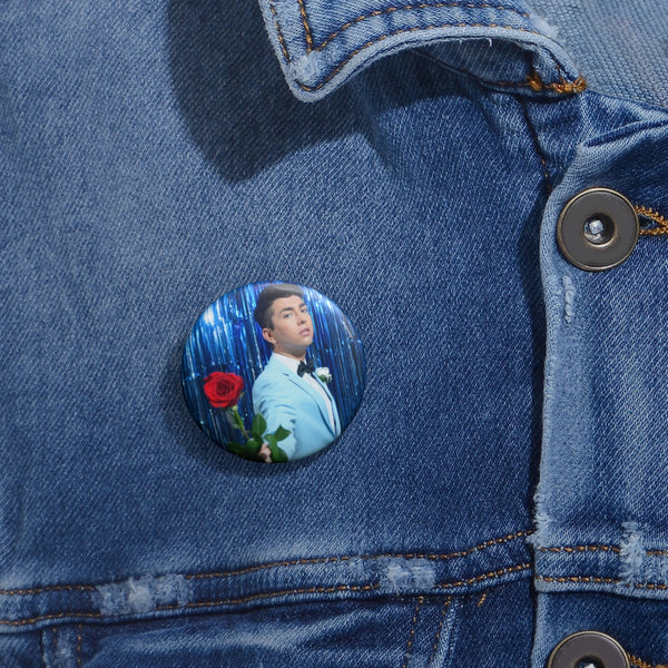 Young Adult Rose Button