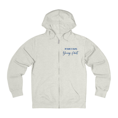 Young Adult Album Zip Hoodie - Cream