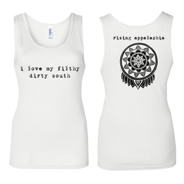 Filthy Dirty South Tank - White