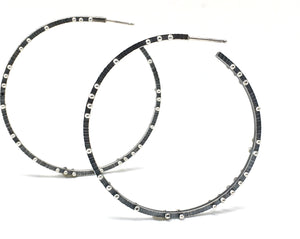 Scattered Dot Hoops