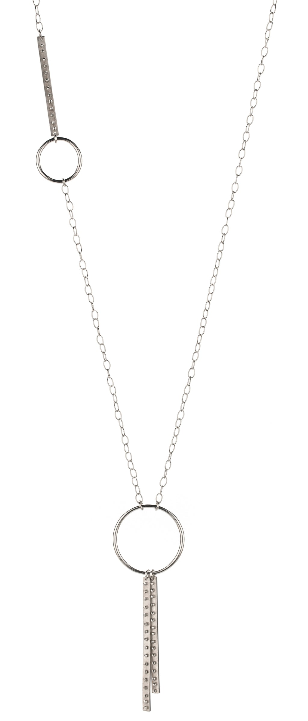 Double Branch & Circle Necklace