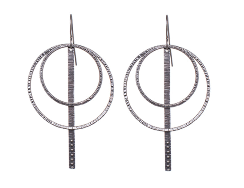 Orbit Stick Earrings
