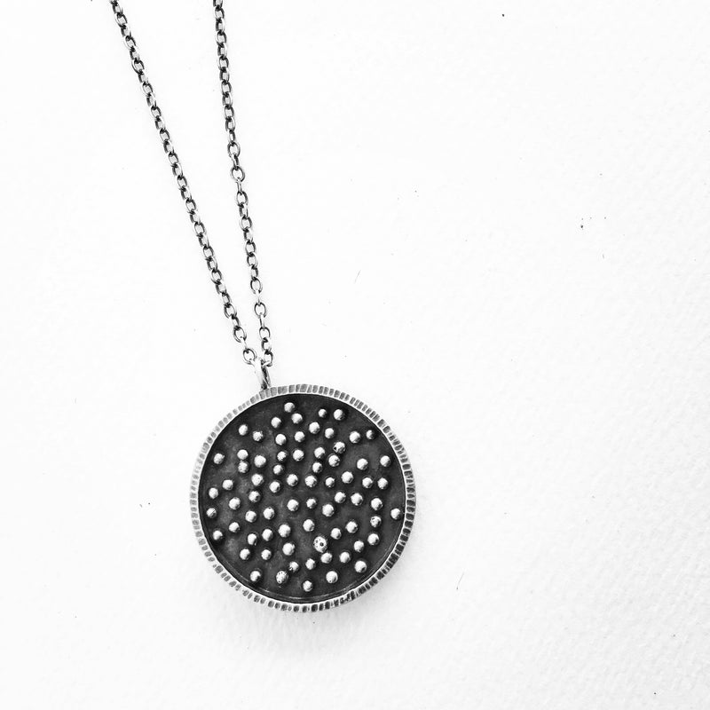 Moon Dot Necklace