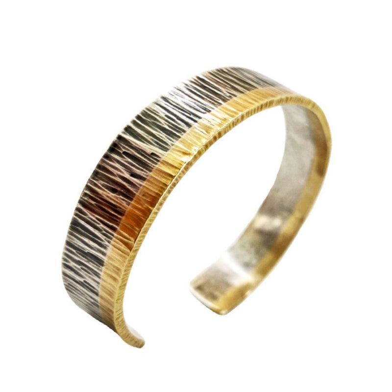 Two-Tone Textured Cuff