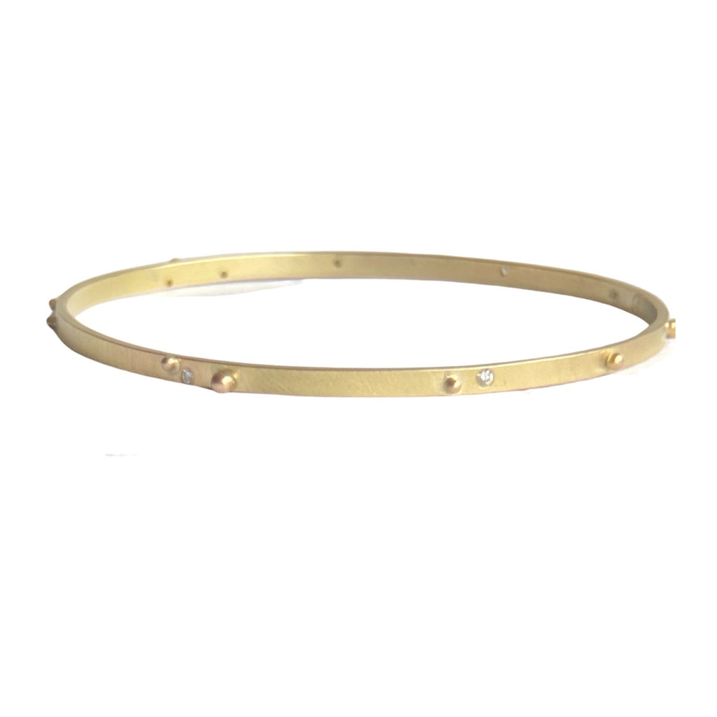 Twinkle Diamond Dot Bangle