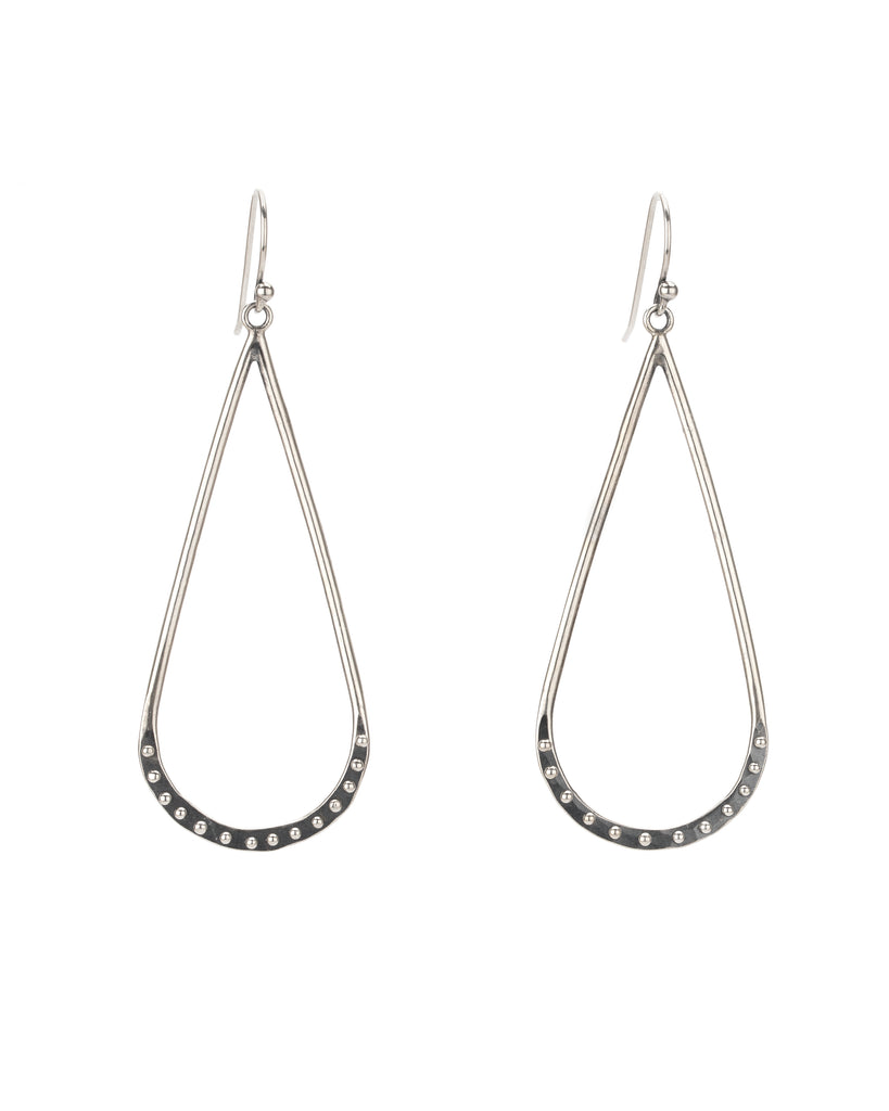 Droplet Crescent Earrings