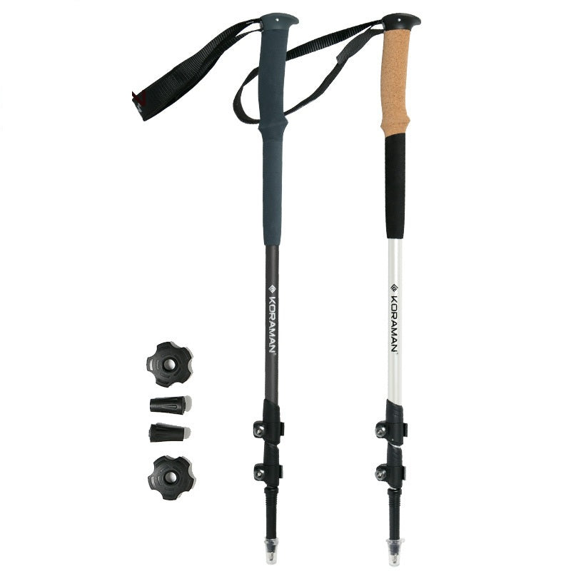 1 Pair of Trekking Walking Sticks