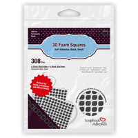 Scrapbook Adhesive 3D Foam Squares - Small Size