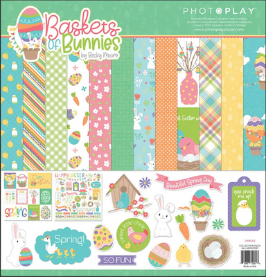 Photoplay - Basket of Bunnies 12 x 12 Collection Pack