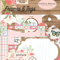 Carta Bella Paper - Farmhouse Market Collection - Frames and Tags