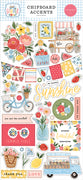 SUMMER 6X13 CHIPBOARD PHRASES - Carta Bella