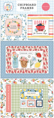SUMMER 6X13 CHIPBOARD FRAMES - Carta Bella