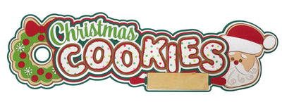 Christmas Cookies Title