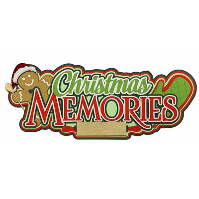 Christmas Memories Title