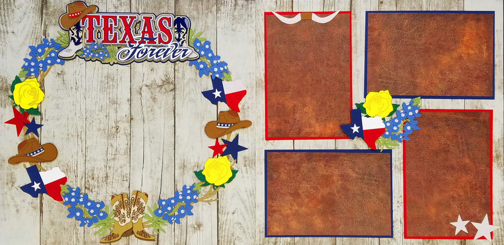 Texas Forever Page Kit