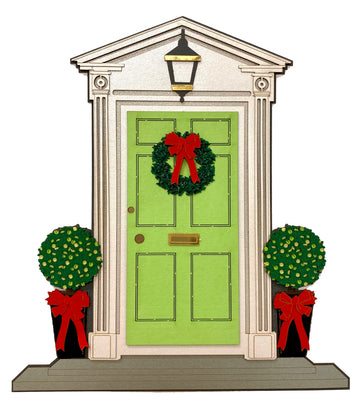 Home for the Holidays Door Embellishment