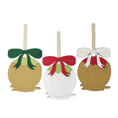Christmas Apples Trio