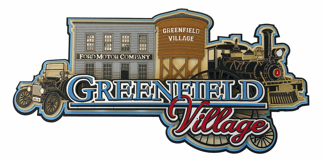 Greenfield Village Collage