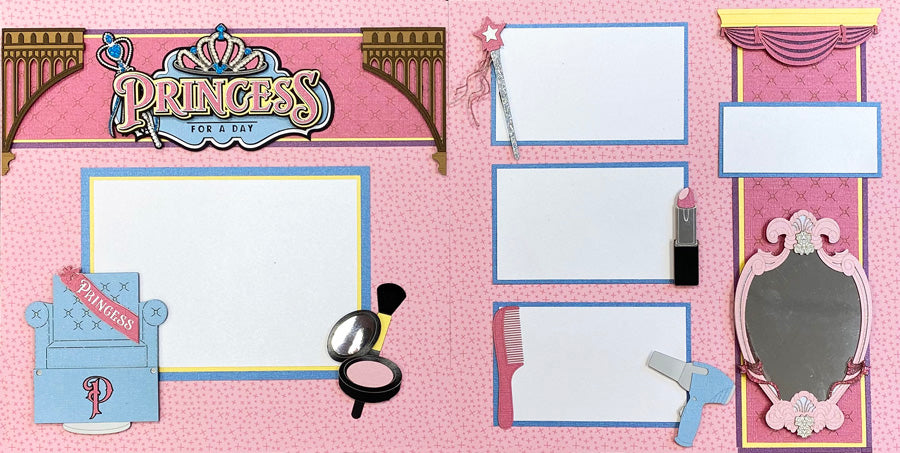 NEW! 2020 Princess for a Day 2-page Layout