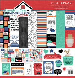 Photoplay - Laugh or Cry Quarantine Life 12 x 12 Collection Pack